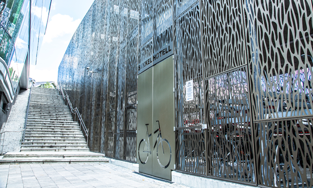 Bicycle shelters - bicycle parking facility- tailored solution